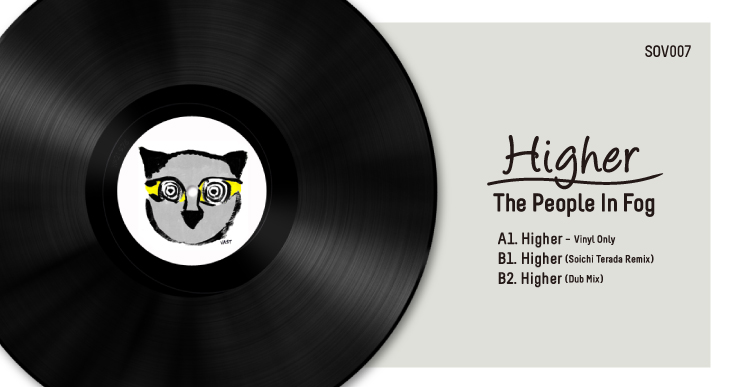 SOV007 | THE PEOPLE IN FOG – HIGHER EP INCL. SOICHI TERADA REMIX